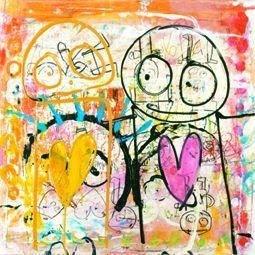 Poul Pava painting