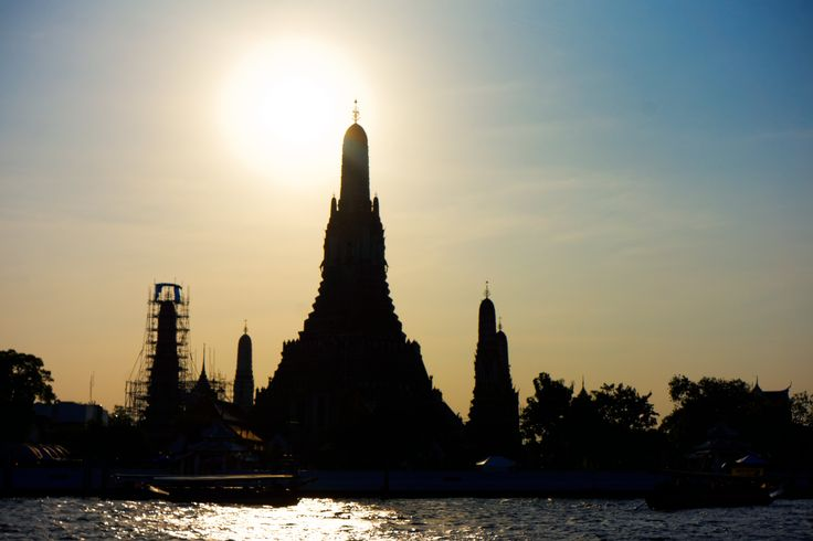 Day 122, Exchange, Christmas Holiday, Family, Wat Arun, The Temple of Dawn, Bangkok