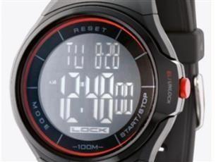 Orologio Sector R3252172026  touchscreen - cronografo 1/100 di secondo-tempi parziali e intermedi-conto alla rovescia -allarmi-calendario 30anni-Retroilluminazione - fuso orario -water resistant 10atm