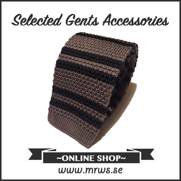Grymt snygga slipsar! Endast 449 kr/st på www.mrws.se - #mrwithstyle #slips #eshop