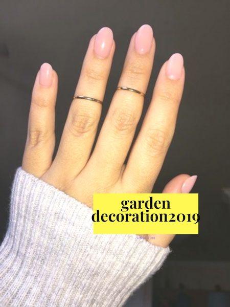 20 kurze ovale Nägel – Nails