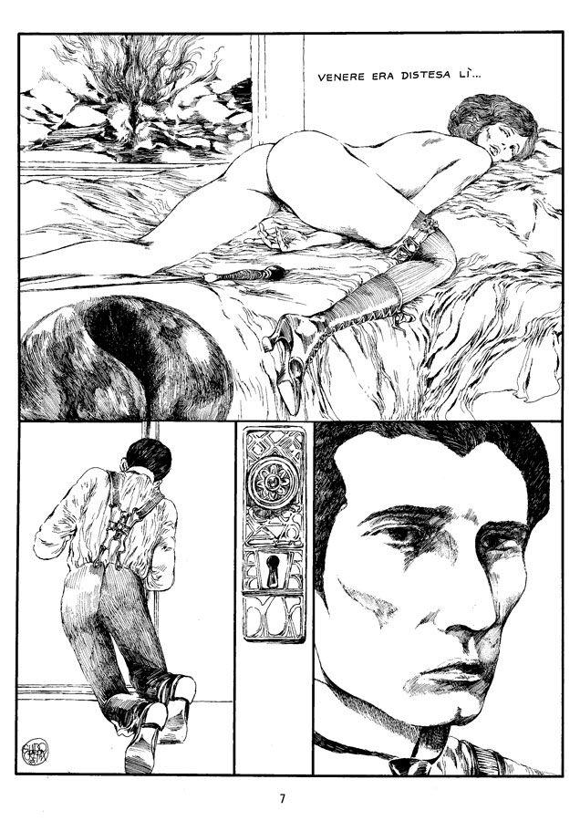 Guido Crepax Erotica n. 1 Venere in Pelliccia: Eros e Psiche