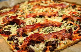 LCHF - Den omvendte verden: LCHF pizza
