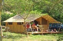 familytours familierondreizen - Eco campings - ingerichte tenten zlefs met eigen sanitair