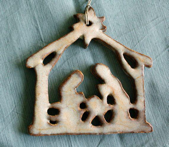 The reason for the Season...nativity ornament (design from 2009) $15.00