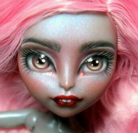 OOAK Custom Monster High Doll Repaint **Ashleigh** Mouscedes King Doll Faceup