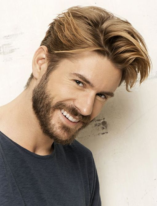 A shag hairstyle can be drawn off by more youthful and more mature men. It must be padded instead than being cut to exactly the same size all over. Retaining any break up finishes trimmed is the important thing to sustaining this coiffure over time. Clean your hair often to maintain the shag slash from looking slimy or stringy. If you couple a facial hair with this well-liked Men's' haircut, keep it brief. Or else you might look unkempt.
