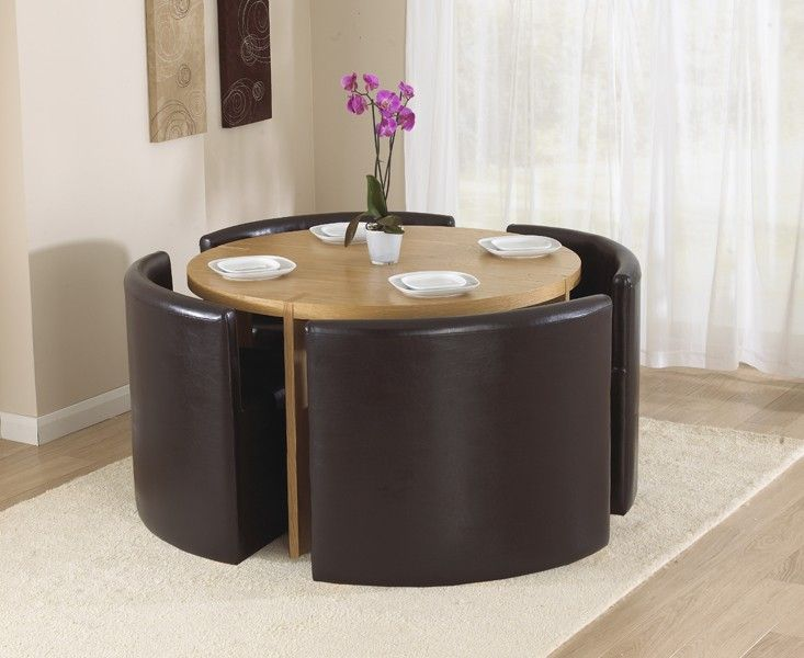 17 best images about dining table sets on pinterest for Compact table and chairs set
