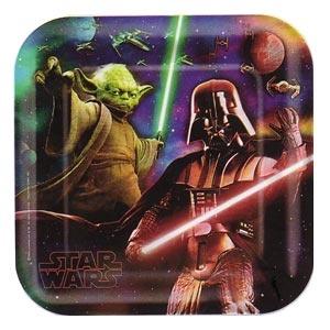 Star Wars Feel the Force Dinner Plates (8/pkg)
