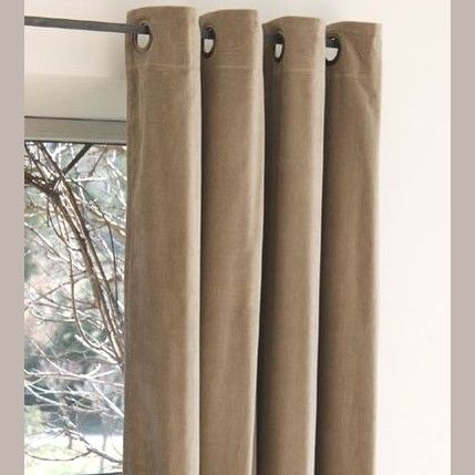 15 best rideaux velours images on pinterest closet rod curtains and velvet curtains. Black Bedroom Furniture Sets. Home Design Ideas