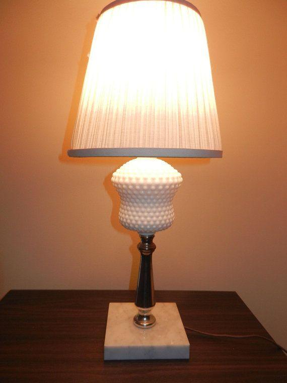 Lamps Lamp Table Lamp Hobnail Lamp White Lamp Shade Clip On Shade