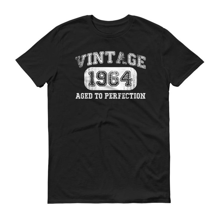 Men's Vintage 1964 Aged to perfection T-shirt - 1964 birthday gift