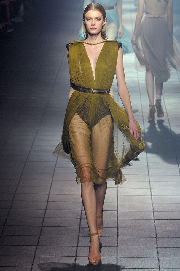 Les robes en voile de soie