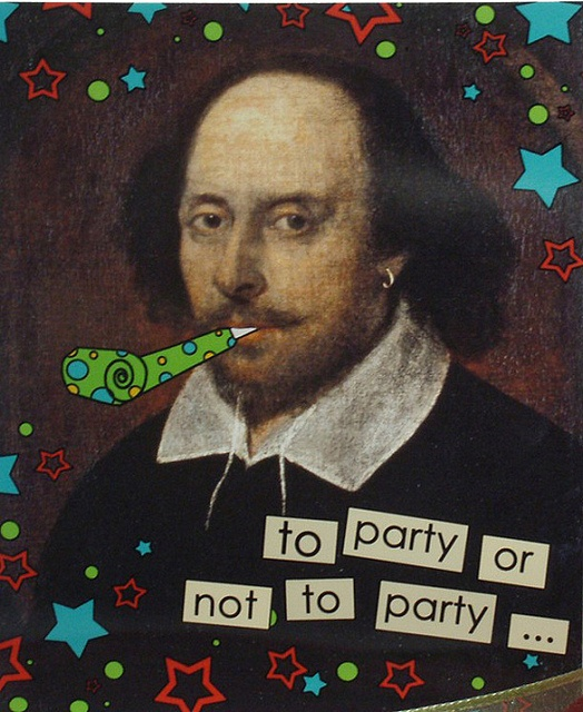 ways to celebrate Shakespeare's birthday