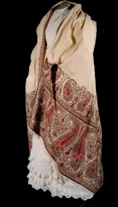 Regency Womens Shawl 1817