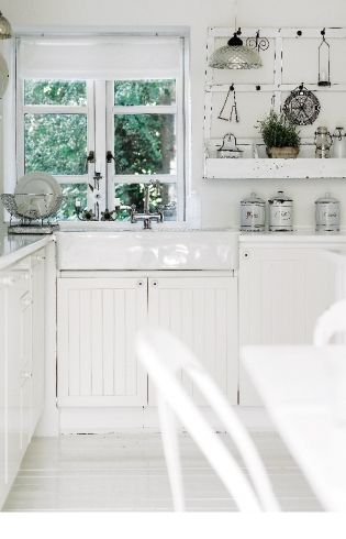 Rustic Farmhouse Kitchen White best 20+ rustic white kitchens ideas on pinterest | rustic chic