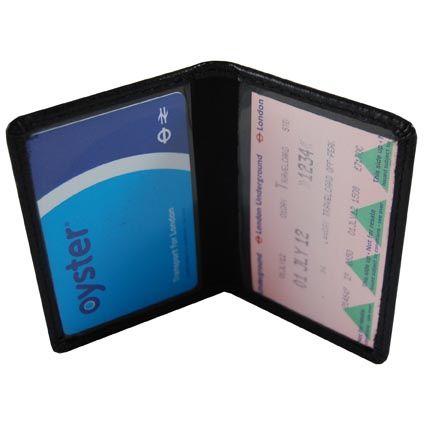 Oyster card holder - portrait