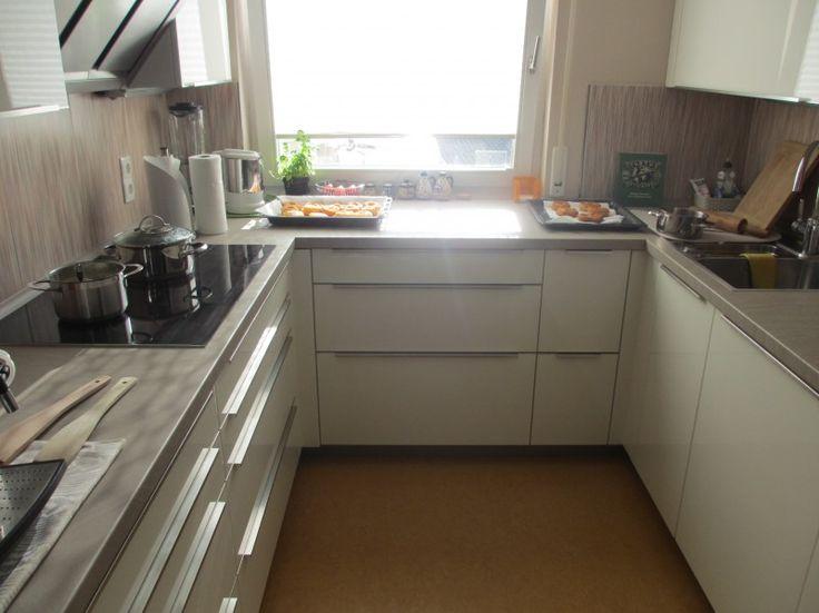 Unsere neue küche ist fertig der hersteller ist häcker systemat stilrichtung