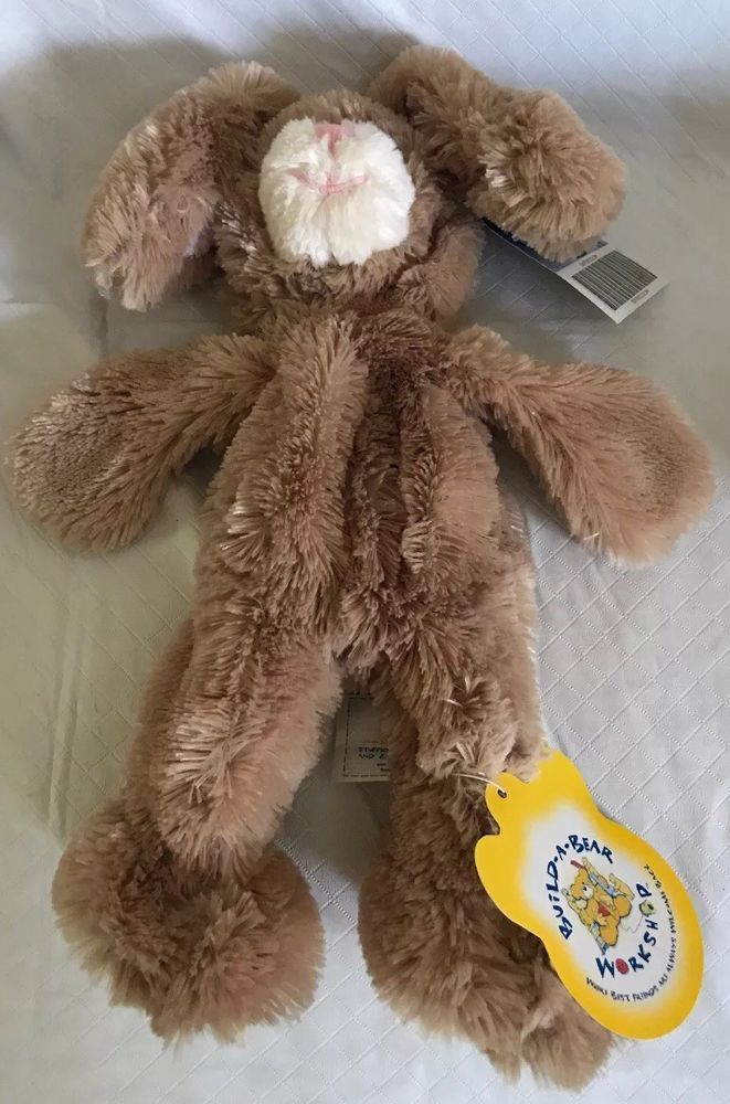 NEW W//TAGS Build-A-Bear Workshop UNSTUFFED Candy Bunny