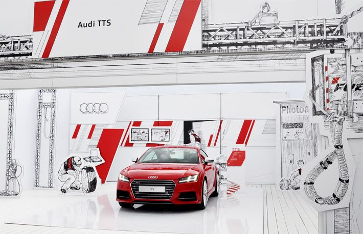 Welcome to the PIT LANE - Audi at the Auto News Wörthersee | Schmidhuber