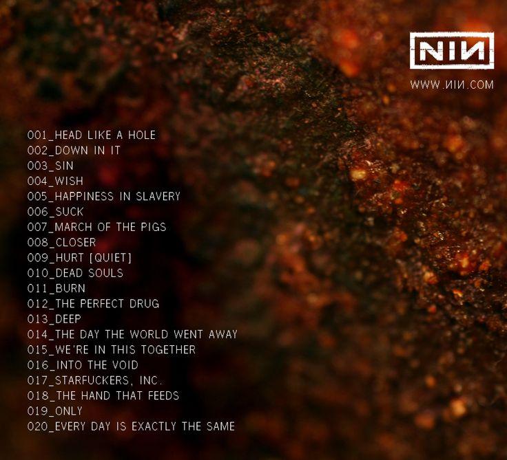 66 best Nine Inch Nails images on Pinterest | Nine inch nails, Trent ...