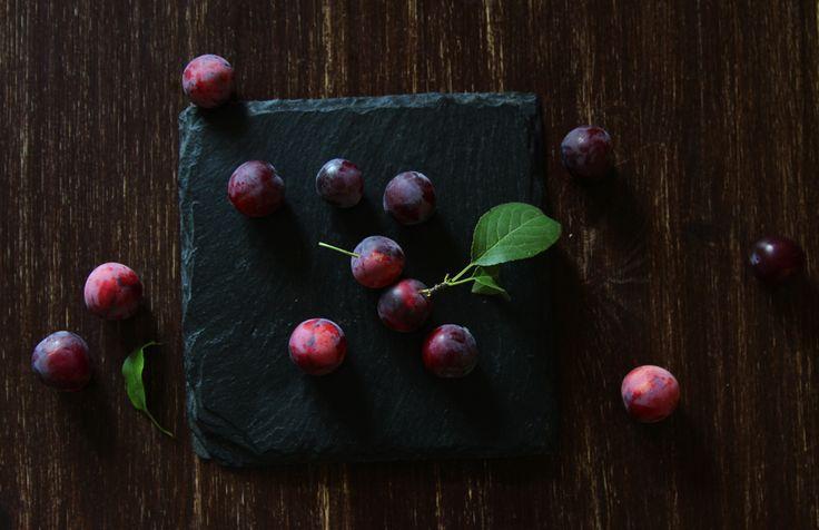 Cherry plum. Styling and photo by Rita Szabo.