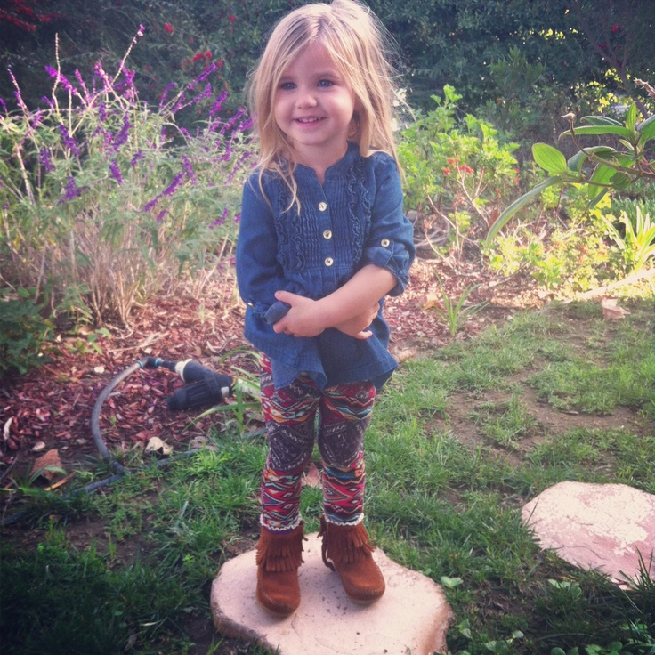 Boho Clothing For Kids Boho toddler with Minnetonkas