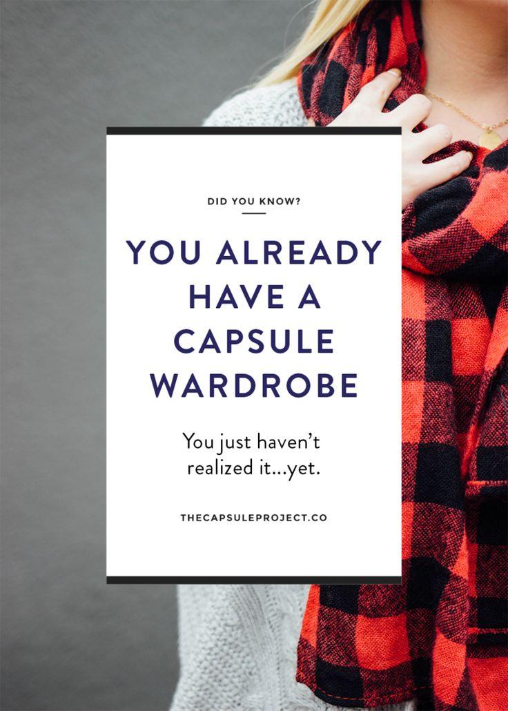 Everyone Has a Capsule Wardrobe