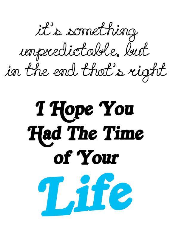 Tijd van je leven