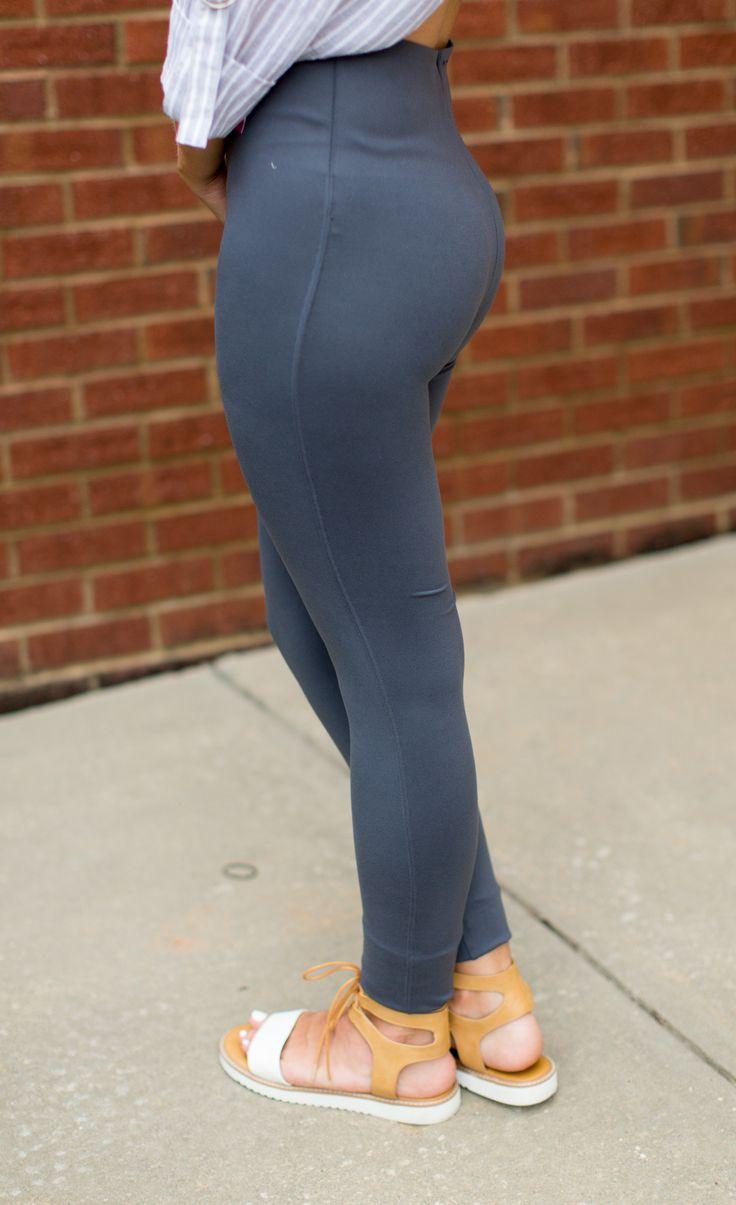 SPANX Essential Legging - Steel