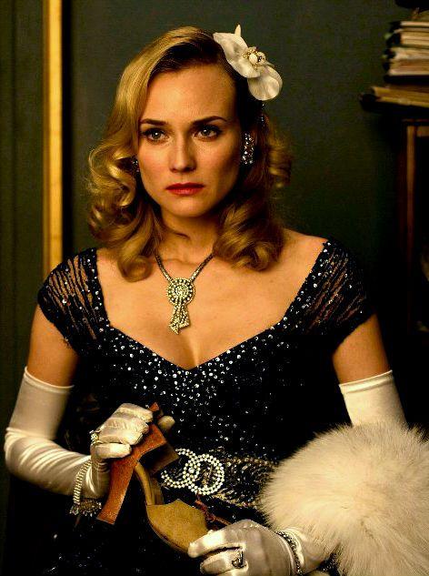 Diane Kruger as Bridget von Hammersmark in Inglorious Bastards (2009).