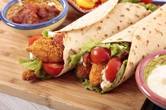 Ev Yapımı Çıtır Tavuk Wrap Tarifi ve Kebap - Pide - Dürüm ve Pizza Tarifleri