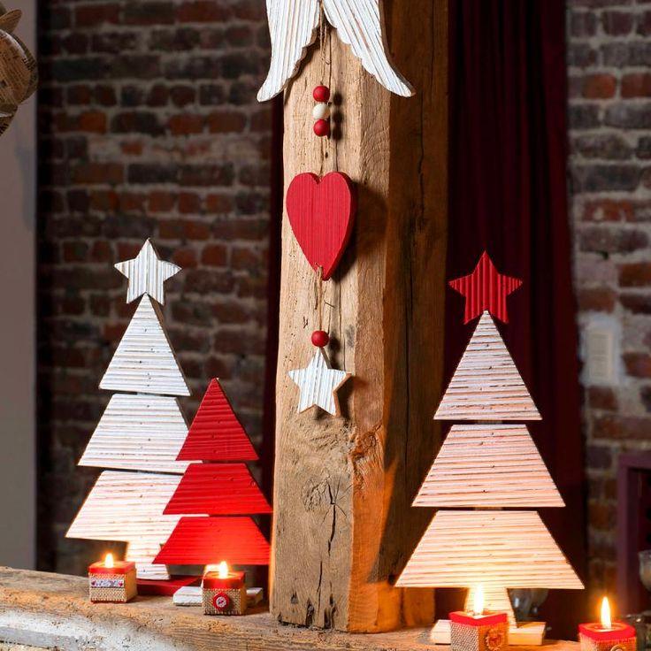 ... Noël : Sapins en bois - Idées conseils et tuto Noël  Deco and Noel