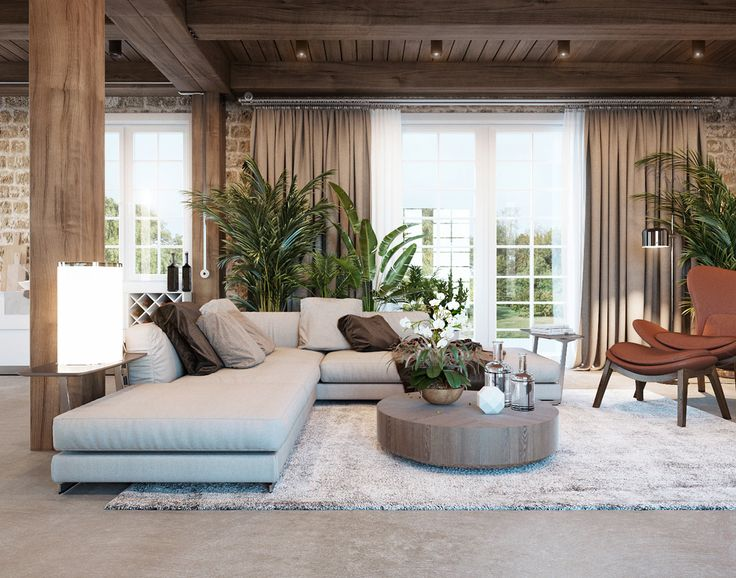 Two home tours from the Med take us on an voyage of rustic decor discovery. Where rough stone and wood crash up against marble and sumptuous upholstery. At firs