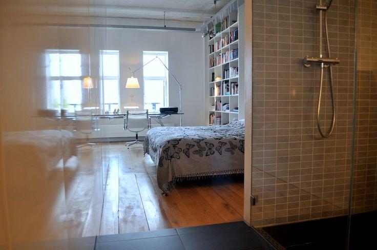 Frank Weil - interieur verbouwd pakhuis - eigentijds