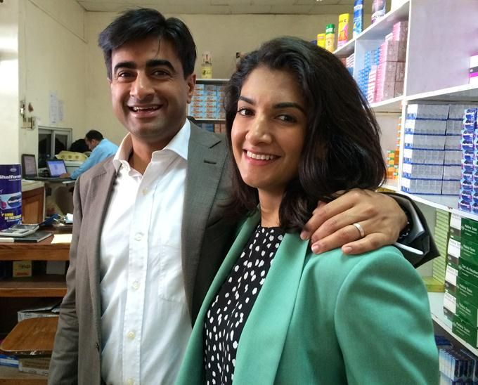 Brother and sister team, Abbas and Shalina Virji, Co-CEOs of Shalina Healthcare, a company based in Dubai and Africa 3