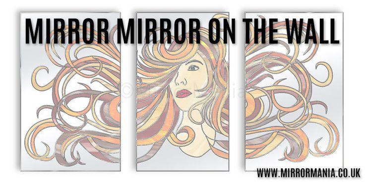 #MirrorMirror on the wall. Our Aphrodite Glass Art Tritriptych mirror - http://www.mirrormania.co.uk/wall-art/glass-art/aphrodite-artistic-mirrored-wall-art.html?utm_content=buffer8bfb6&utm_medium=social&utm_source=pinterest.com&utm_campaign=buffer #BizHour