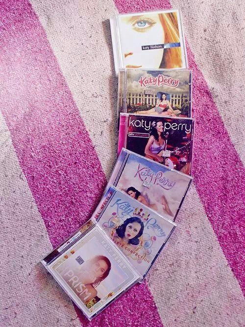♡ On Pinterest @ kitkatlovekesha ♡ ♡ Pin: Merch ~ All Katy Perry Albums ♡