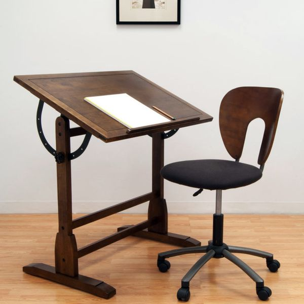 Studio Designs Rustic Oak Vintage Drafting Table - Overstock™ Shopping - The Best Prices on Studio Designs Drafting Tables