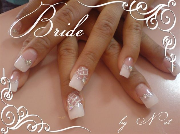 Bridal by Natalia from Nail Art Gallery