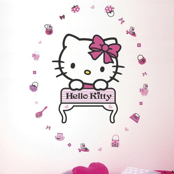 Hello Kitty Fashion Maxi Sticker | Stickers murali, Adesivi decorativi, Wall Stickers