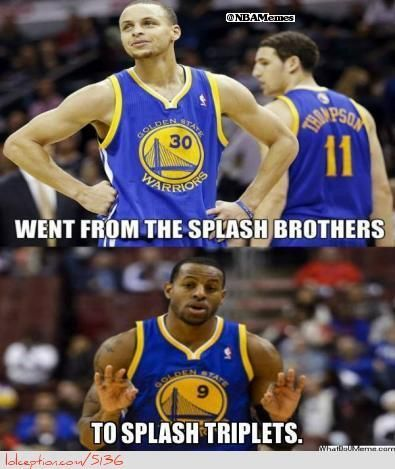 Golden State Warriors: Splash Brother to Splash Triplets!