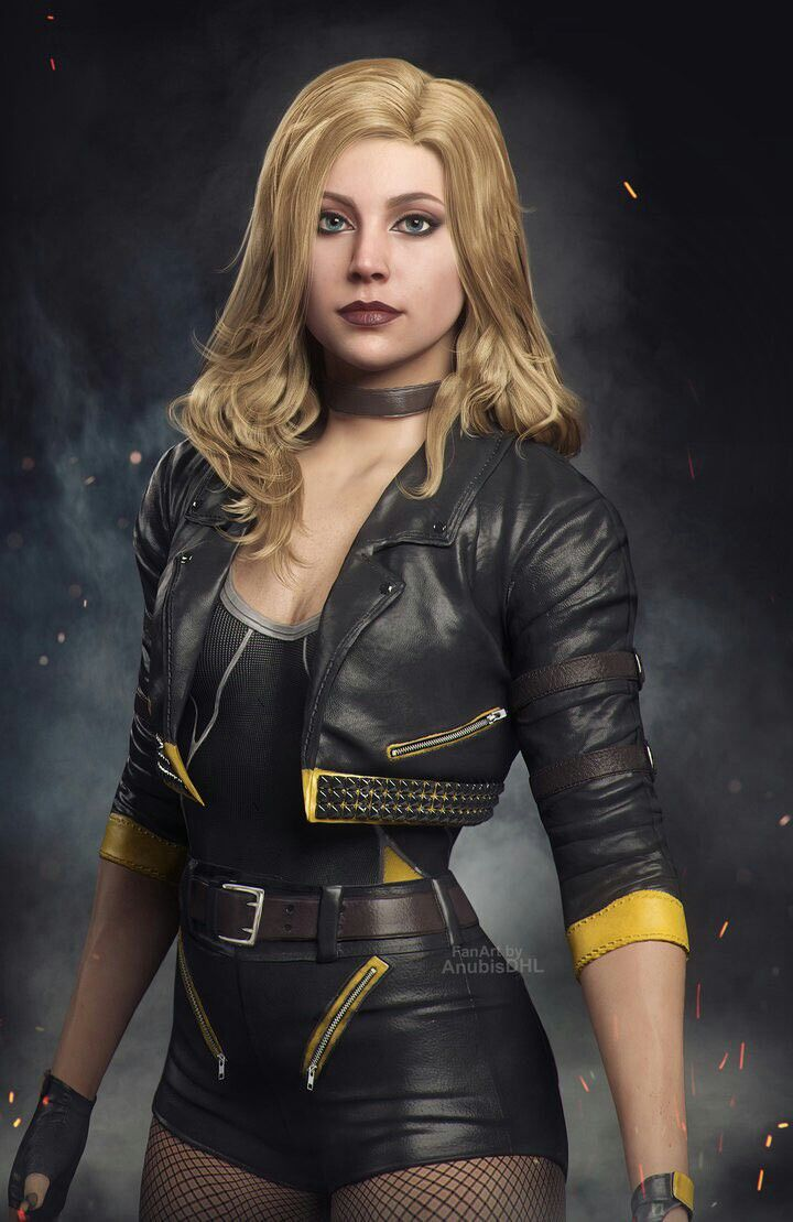 #BlackCanary #injustice2