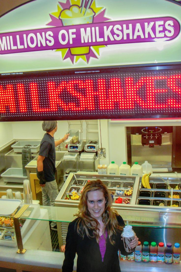 Create a million memories at Millions of Milkshakes!