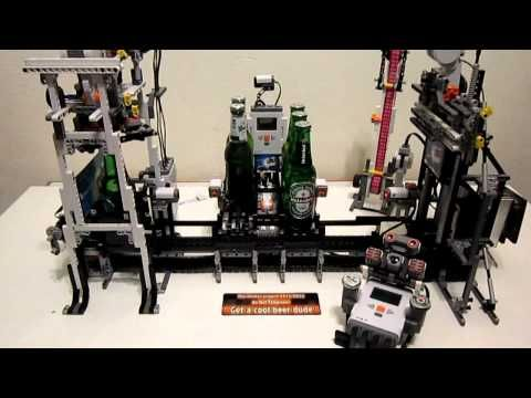 LEGO Mindstorms beer machine is pretty cool