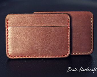 Leather Card Holder, Leather Card Case, Leather Card wallet, Business Card Holder, Credit card case, Credit card wallet