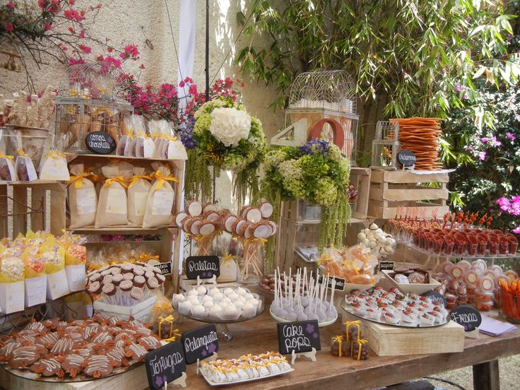 73 best images about mesa de postres on pinterest for Bodas en jardin en monterrey