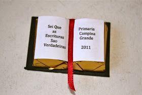 Nossa leitora, Miche Barbosa, nos mandou um modelo de convite e lembrancinha para a Apresentação da Primária na Sacramental. Obrigada, Miche...