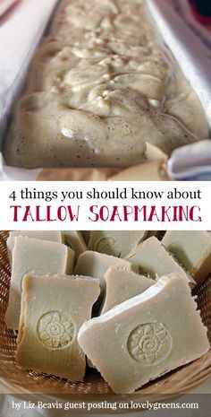4 Things you should know about Tallow Soapmaking + recipes to get you started