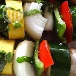 Marinated Barbecued Vegetable Skewers @ allrecipes.com.au